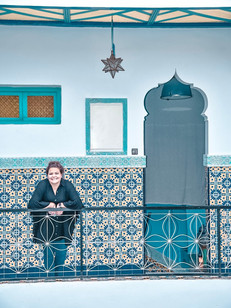 Riad BE Marrakech - My friend Lacey look