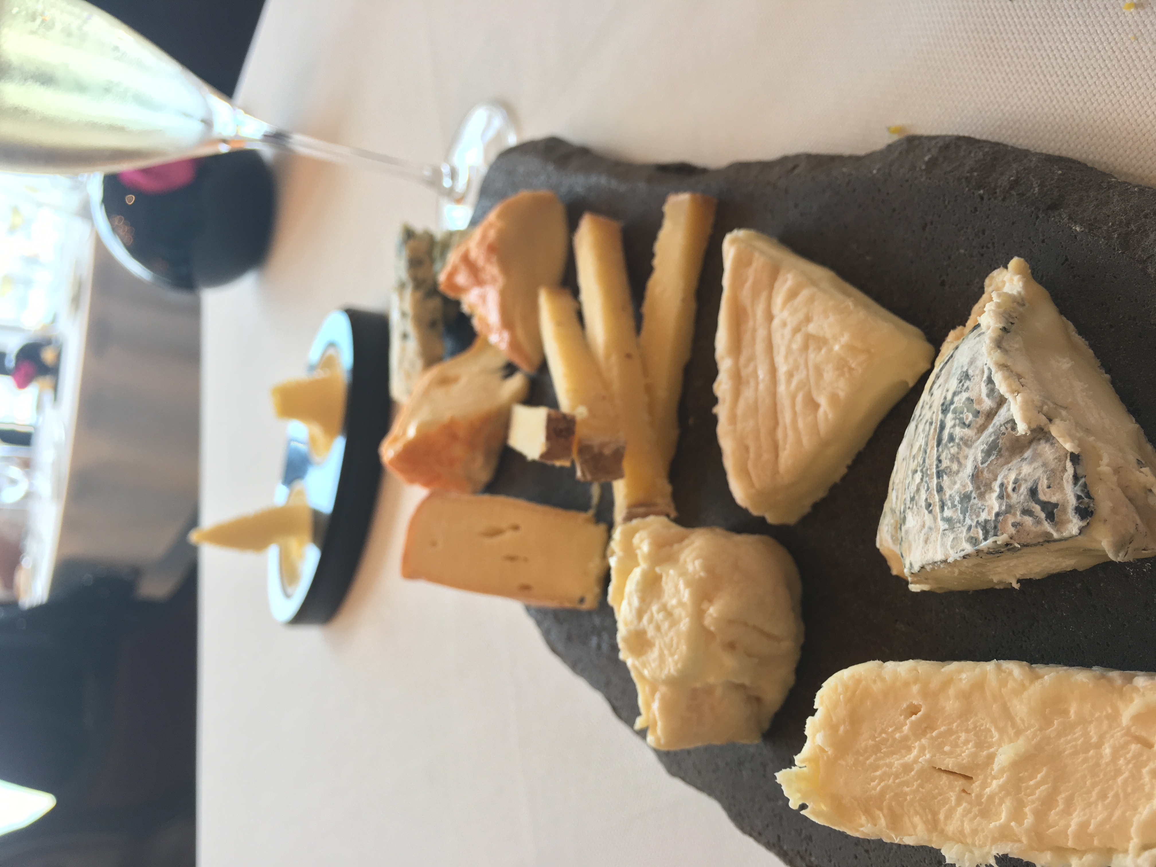 Cheese Plate at Caprice