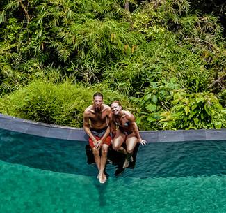 The pool at Komaneka at Tangayyuda