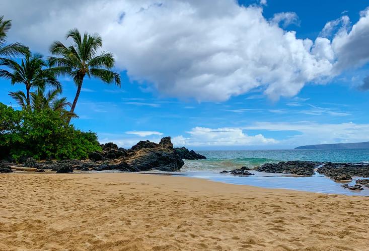 A beach near Makena Landing