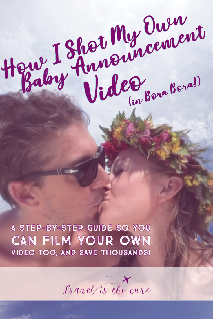 how to shoot your own baby annoucnement video