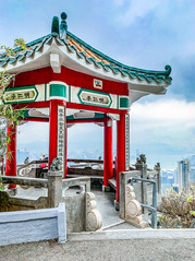 See the entire city from atop Victoria Peak