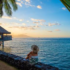 InterContinental Tahiti - Watching the S