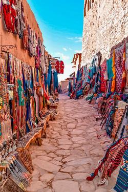 Merchants at Ait Benhaddou