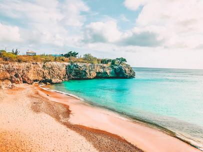 An Empty Beach in Curaçao