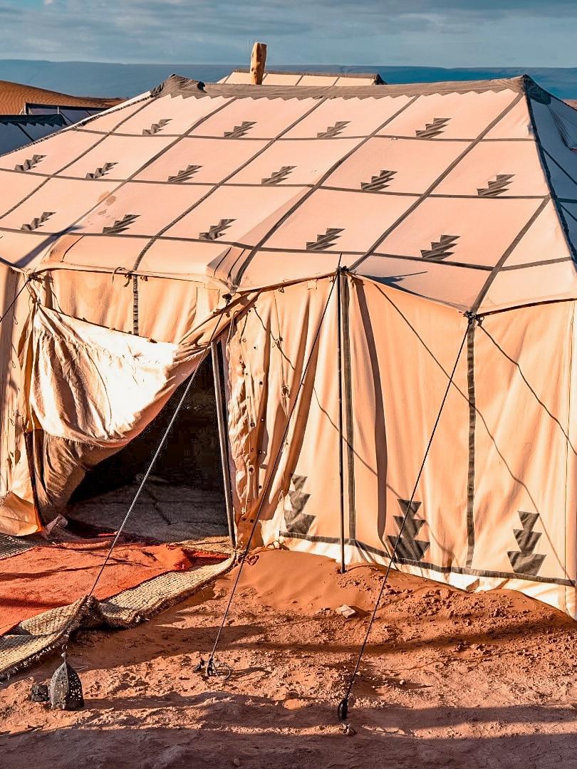Tents at Erg Chigaga Luxury Tent Camp