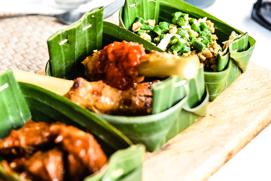 Traditional Balinese Lunch