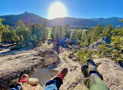 4 Days of Backpacking in the Domeland Wilderness