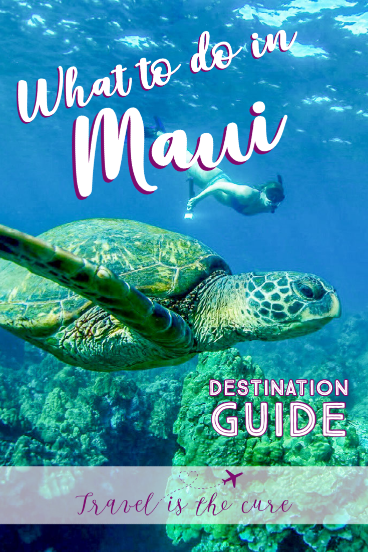 Part of the Travel is the Cure Maui Destination Guide, here is a list of recommendations for things to do in Maui