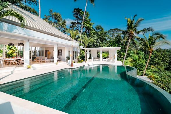 Ubud Villa Pool by Day