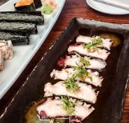 Octopus Dish at Nobu Malibu