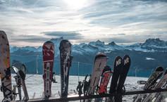 Skis at Faloria - Cortina d'Ampezzo