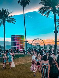 Coachella at Sunset