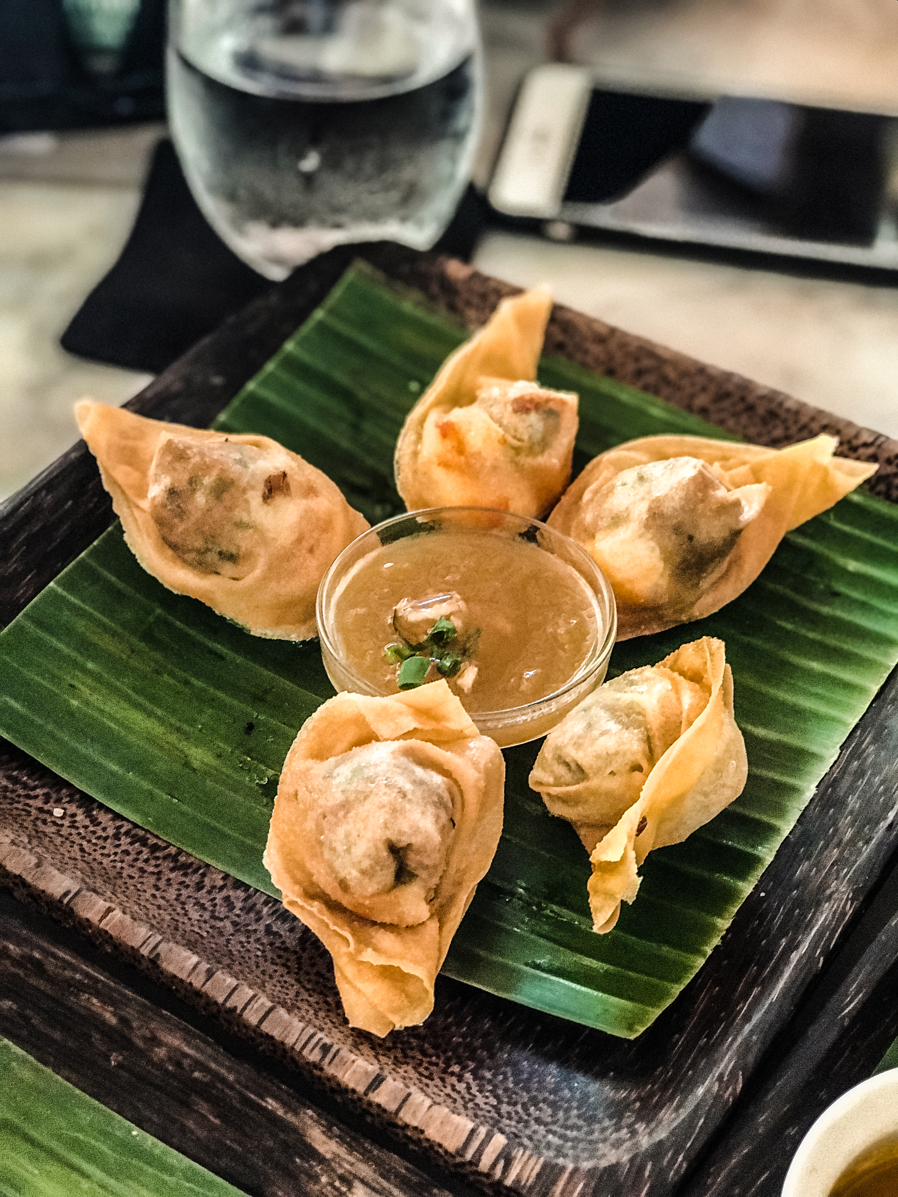Seafood Potstickers
