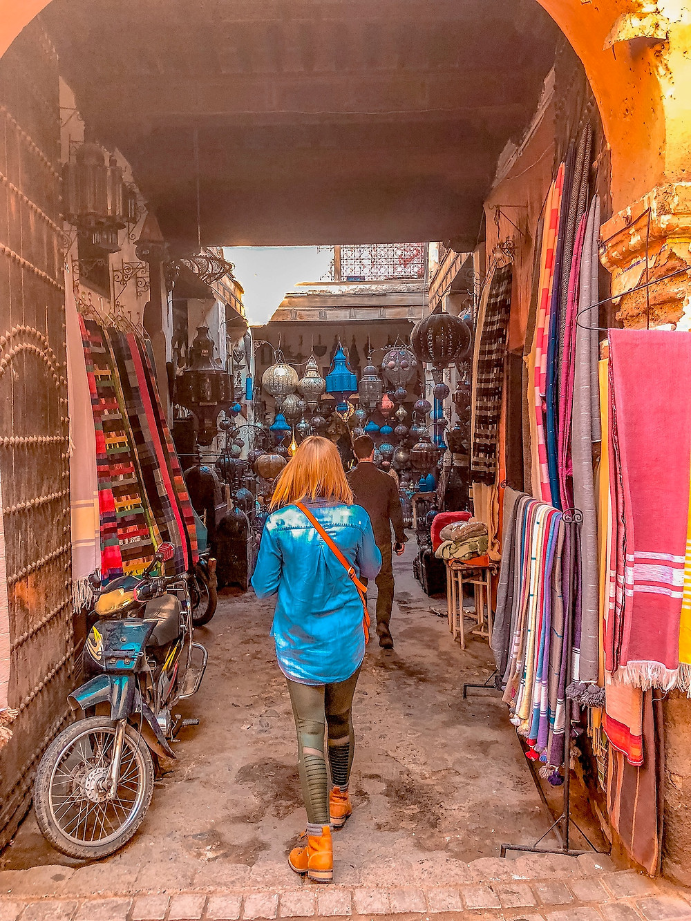 Shopping in the Souks