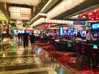 Casino Floor at the Cosmo