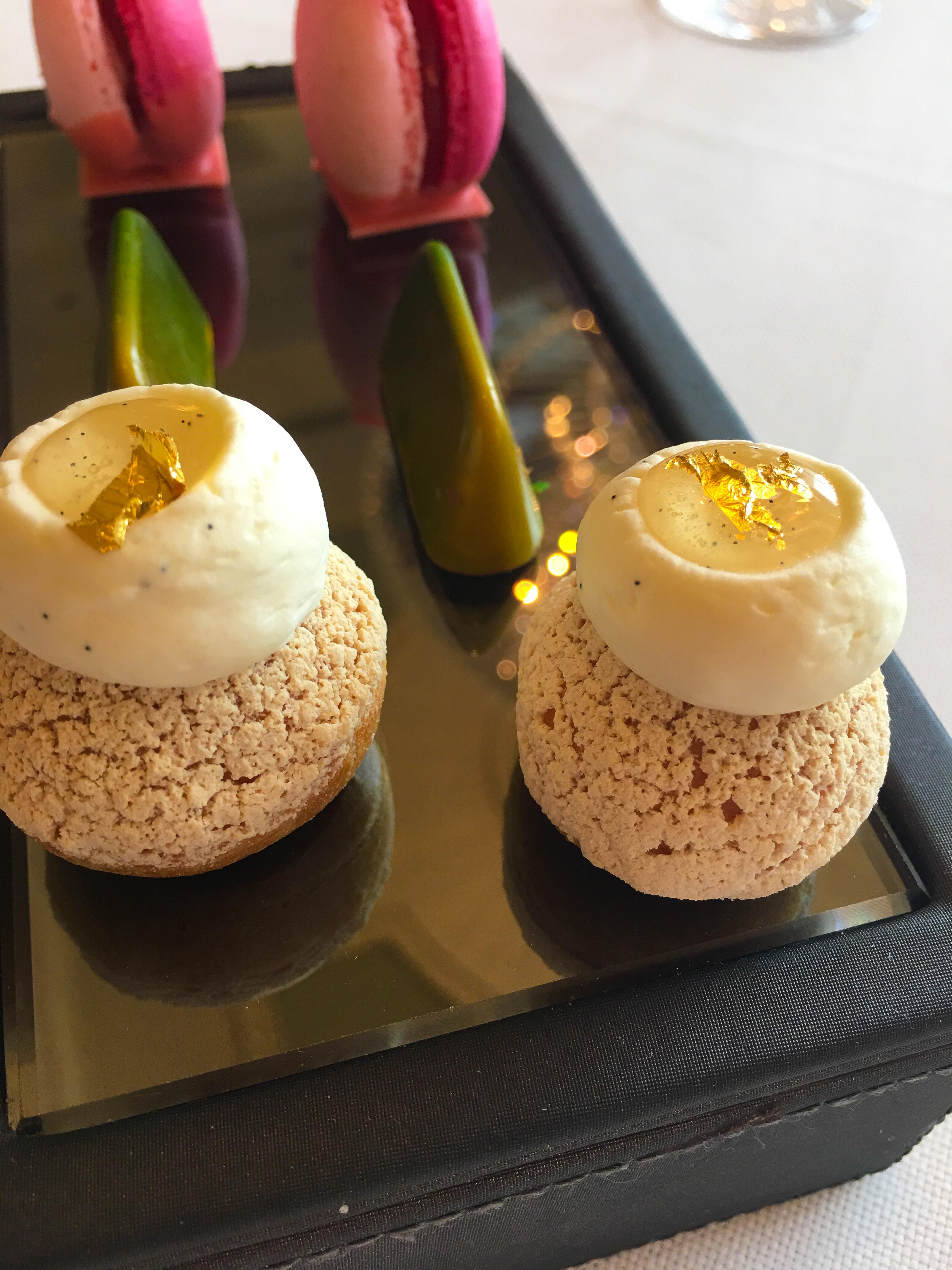 Desserts at Caprice