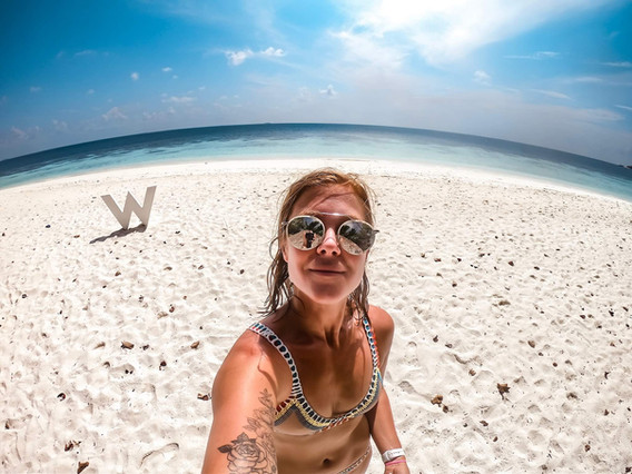 Gaathafushi Island, Maldives, shot with a GoPro Hero 7