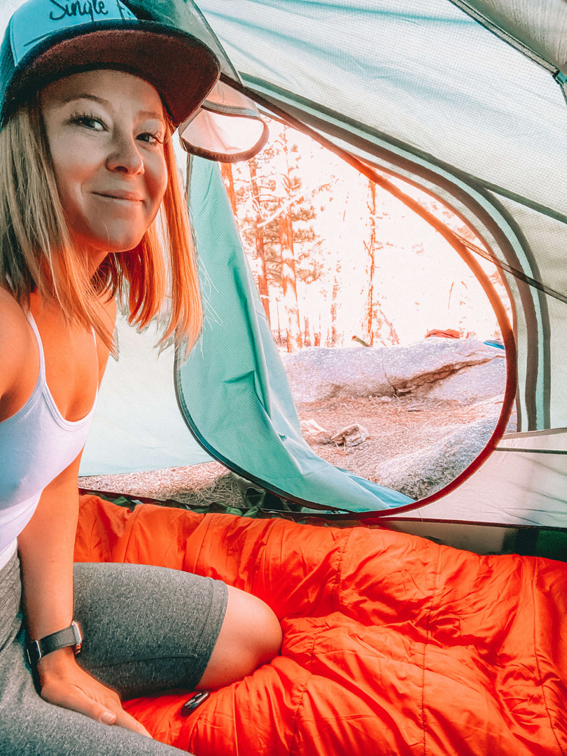 Backcountry Camping, Domeland Wilderness
