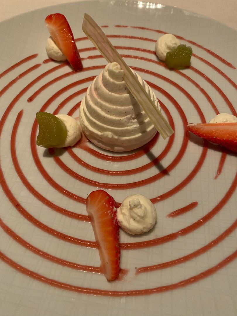 Dessert at La Terasse