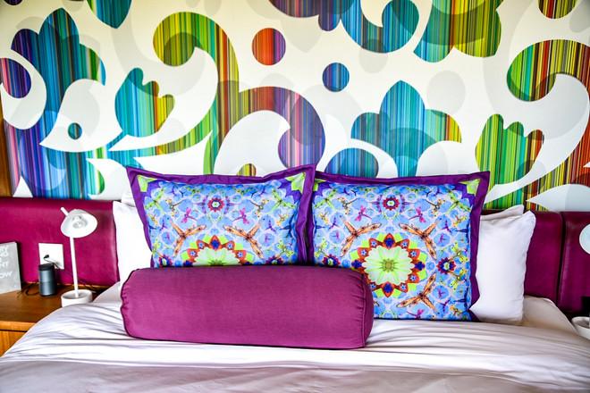 Pillows & Wallpaper