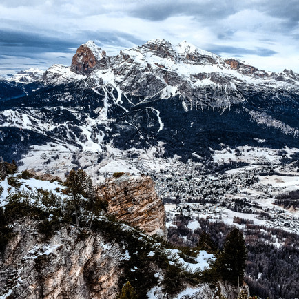 The Mountains of Cortina d'Ampezzo