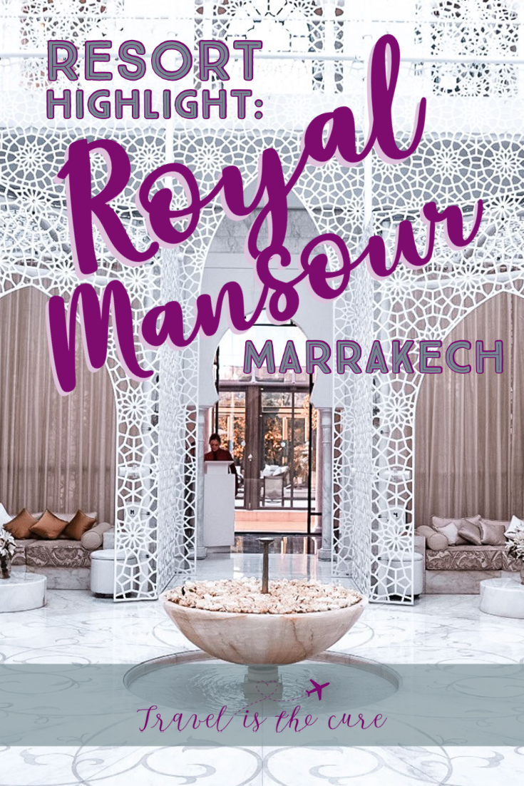 A photo and video tour to inspire you to stay at the stunning Royal Mansour in Marrakech, Morocco