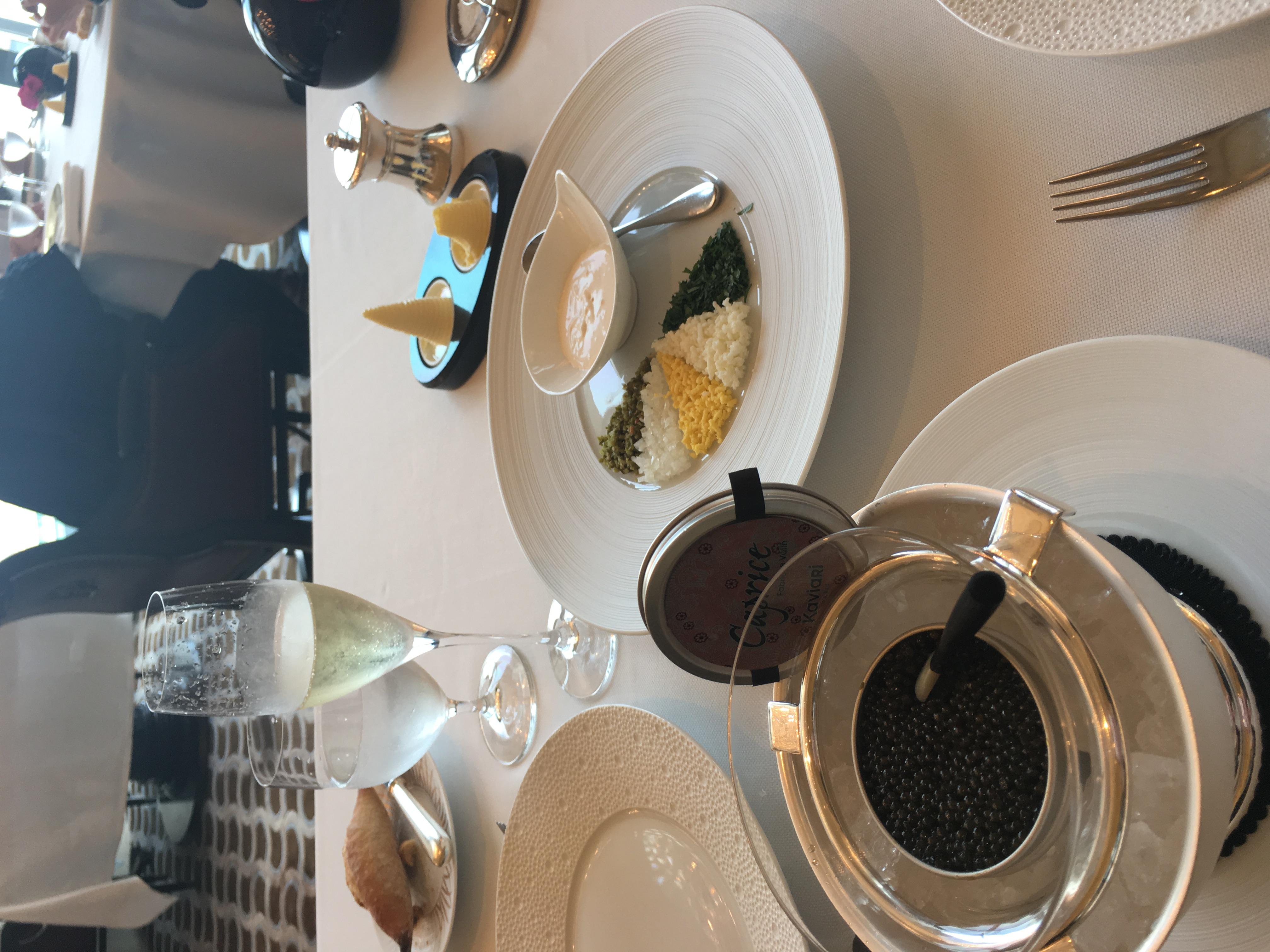 Caviar at Caprice