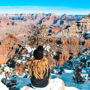 Snow in the Grand Canyon