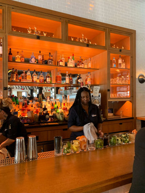 Cocktails at The Brakeman