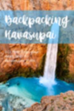 Backpacking Havasupai
