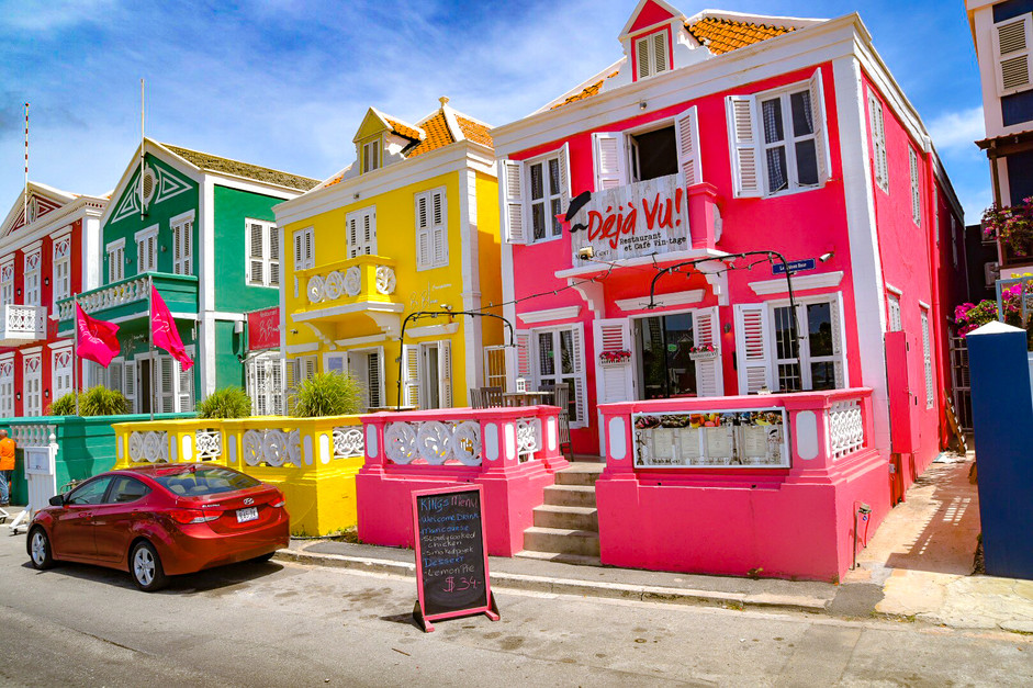 Curacao's Three Sisters