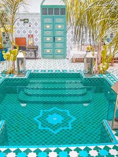 Riad BE Marrakech - Interior courtyard a