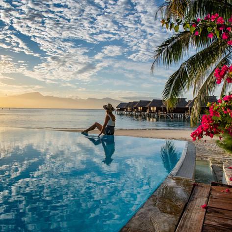 Pool Views - Sofitel Moorea la Ora Beach