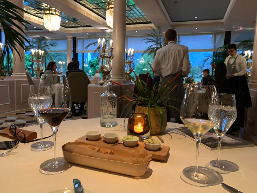 Dinner at La Terasse