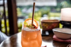 Cocktails at Mandapa