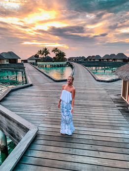 Overwater Bungalows at The W
