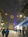 Downtown Cortina in the Snow