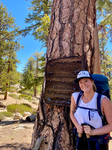 Backpacking Domeland Wilderness