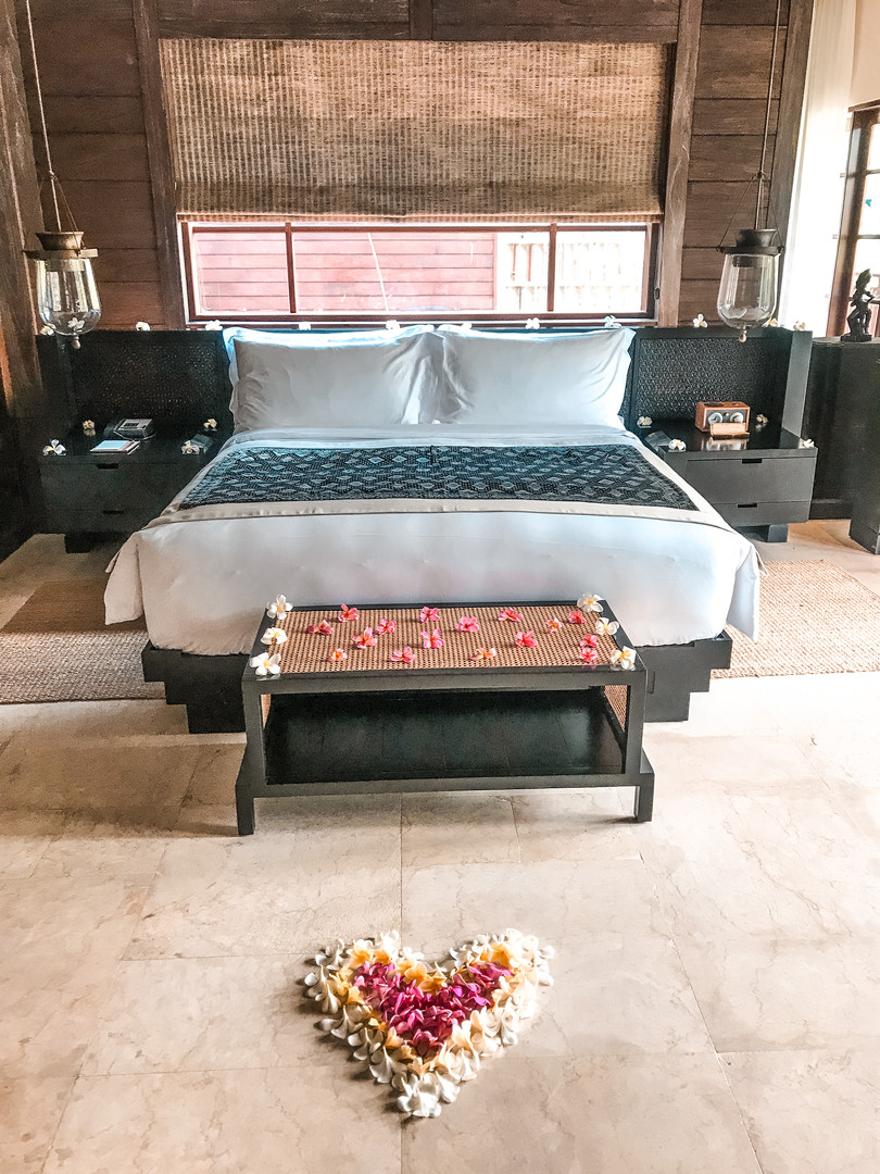Our room at the Mandapa
