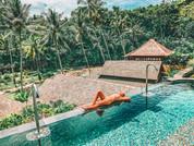Spa Pool at Mandapa