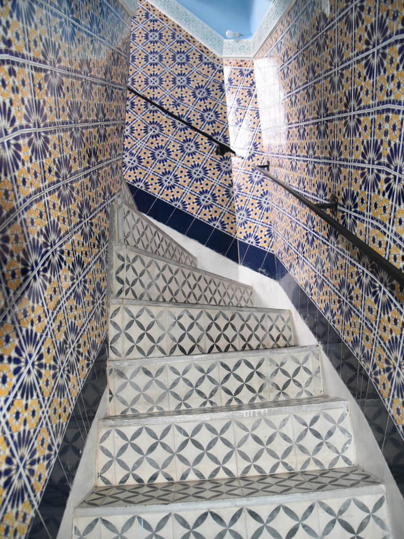 Riad BE Marrakech - Stairs to Rooftop