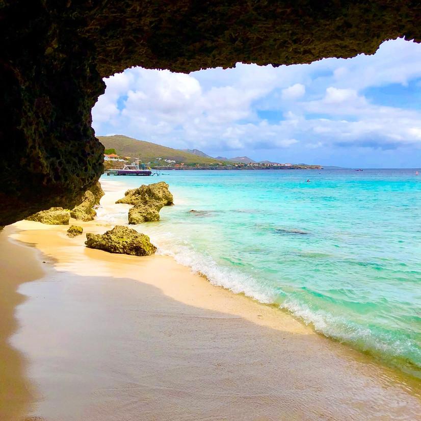 Natural Caves at Playa Kalki