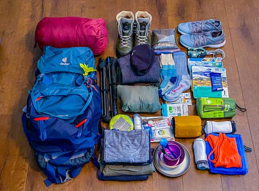 Free Havasupai Backpacking List!