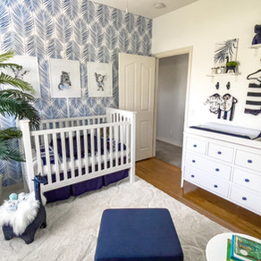 A Tour of Our Tropical Themed Nursery
