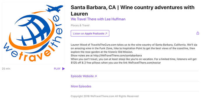 We Travel There Podcast _ Wine country a