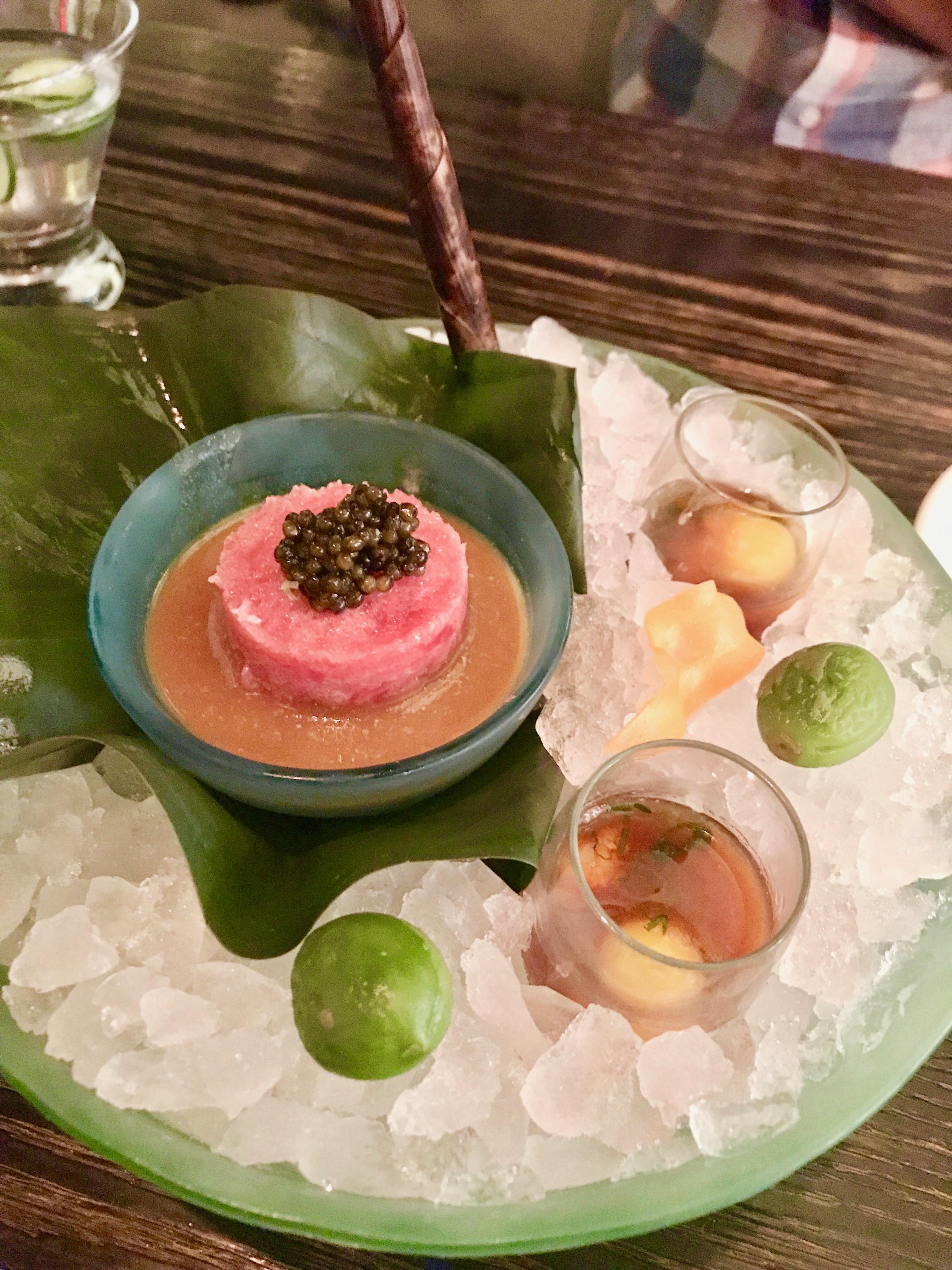 Toro & Caviar, Nobu
