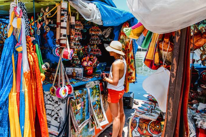 Open Air Markets in Punda