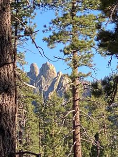 Cannell Peak, Domeland Wilderness