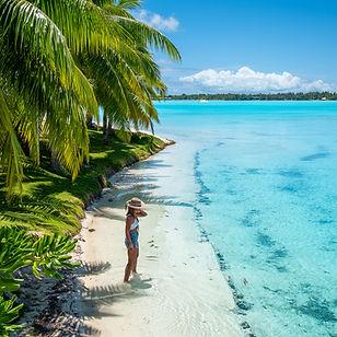 Private Beach _ St. Regis Bora Bora